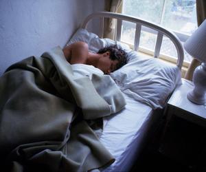 boy, bed, and sleep image
