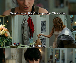 champagne, friday, and zooey deschanel image
