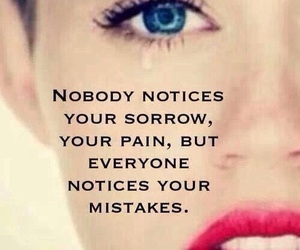 miley cyrus, quote, and mistakes image