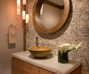home, style, and bathroom image