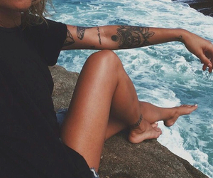 beach, river, and soul image