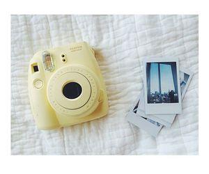 yellow, camera, and fujifilm image