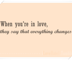 quotes, typography, and love image