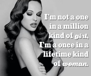 girl, woman, and quote image