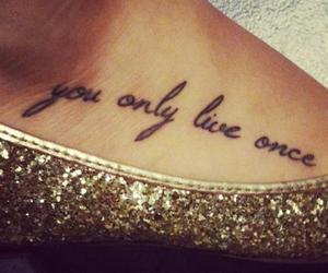 tattoo, yolo, and tatto image