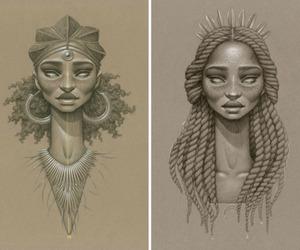 braids, ethiopian, and eritrean image