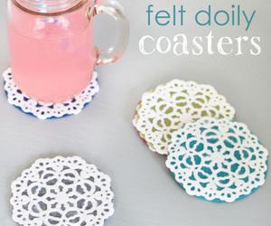 coaster, decoration, and diy image