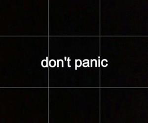 black, grunge, and panic image