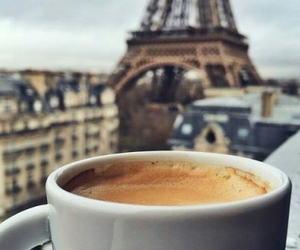 coffee, paris, and city image