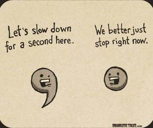 comma, funny, and period image