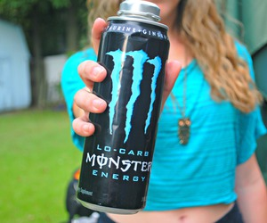 monster and hair image