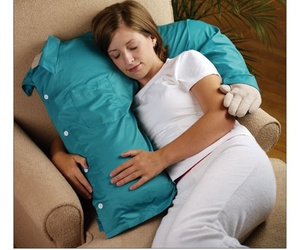 alone, pillow, and single image
