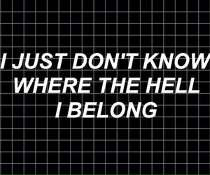 quote, grunge, and black image