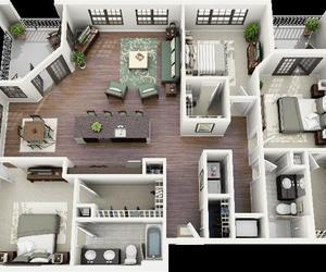 apartment floor plans, apartment floor plan, and one bedroom apartments image