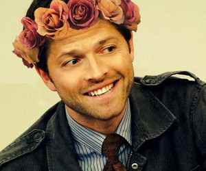 collins, flower crown, and misha image