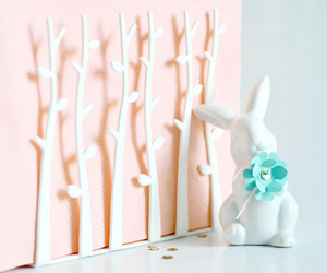 bunny, decor, and easter image