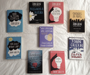 books, john green, and the fault in our stars image