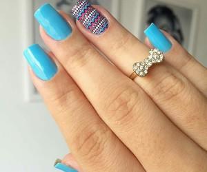 fashion, unhas decoradas, and fingers image