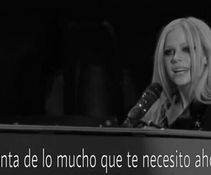 Avril, Avril Lavigne, and black and white image