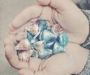 chocolates, cool, and kisses image
