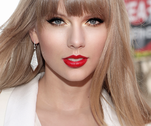 Taylor Swift, girl, and red image