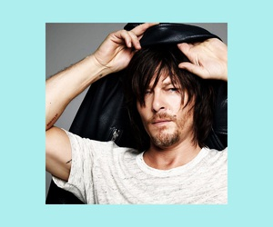 norman reedus, photoshoot, and the walking dead image
