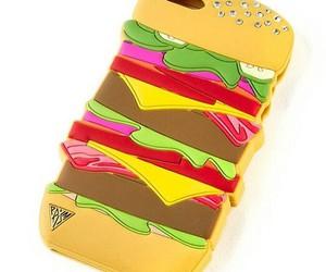 case, funny, and hamburger image