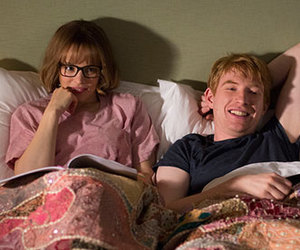 rachel mcadams, sweet couple, and domhnall gleeson image
