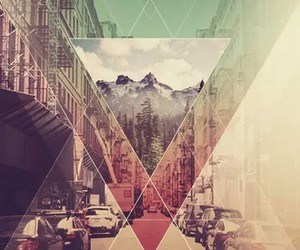 wallpaper, city, and hipster image