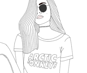 grunge, draw, and drawing image