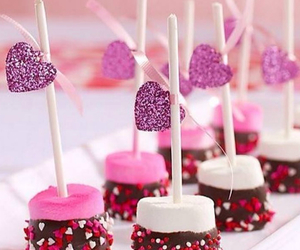 chocolate, love, and food image