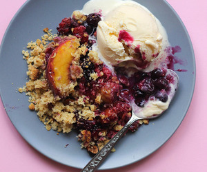 amazing, crumble, and dessert image