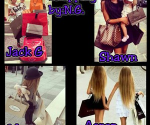 shopping and magcon preference image