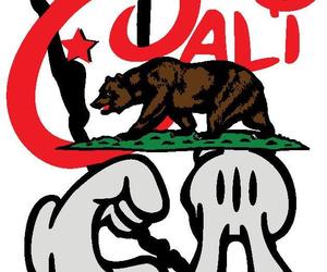 cali, mickey mouse, and california republic image