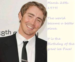 lee pace, smile, and lee grinner pace image