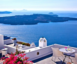 Greece, sea, and beautiful image