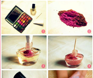 diy and nail polish image