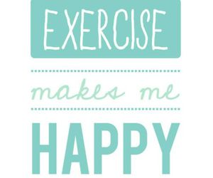happy, exercise, and fitness image