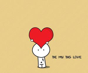 love, heart, and big image