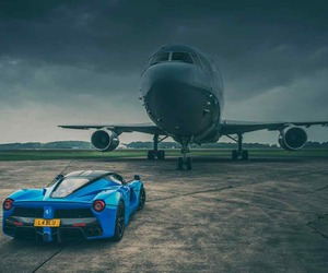 blue, rich, and car image