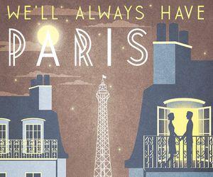paris, vintage, and vogue image