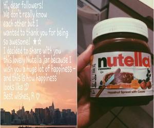 followers, fun, and nutella image