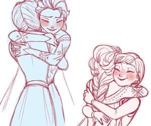 frozen, disney, and anna image