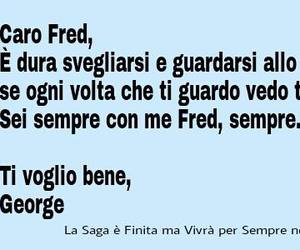fred e george weasley and lettera fred image