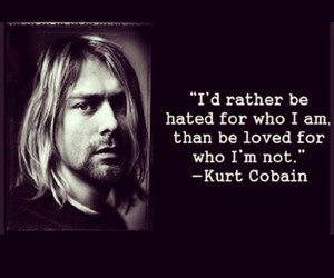 quote, kurt cobain, and nirvana image