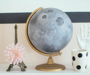 crafts, diy, and globe image