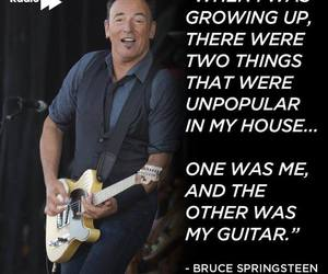 bruce springsteen, famous, and fender image
