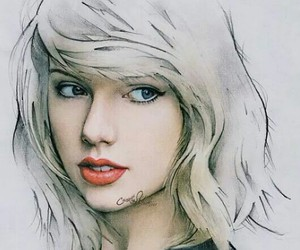 Taylor Swift, art, and drawing image