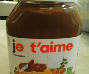 food, I Love You, and je t'aime image