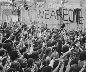 hippies, peace, and love image